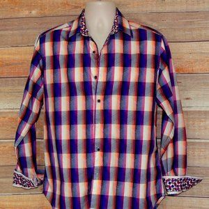 "NWOT Robert Graham Shirt Sz. S   34"" Sleeves,"